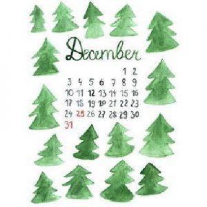 SockerSkolans Julkalender för Sockerberoende