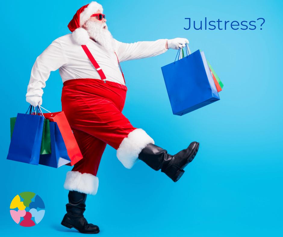 Sockerberoende har lätt att känna julstress och samtidigt förneka det